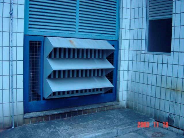 Atenuador de ruído para geradores