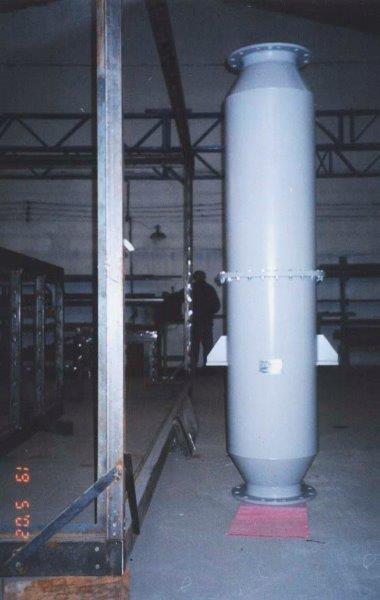 Atenuador de ruído industrial