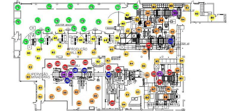 Mapeamento de ruído
