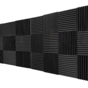 Espuma acústica para estúdio